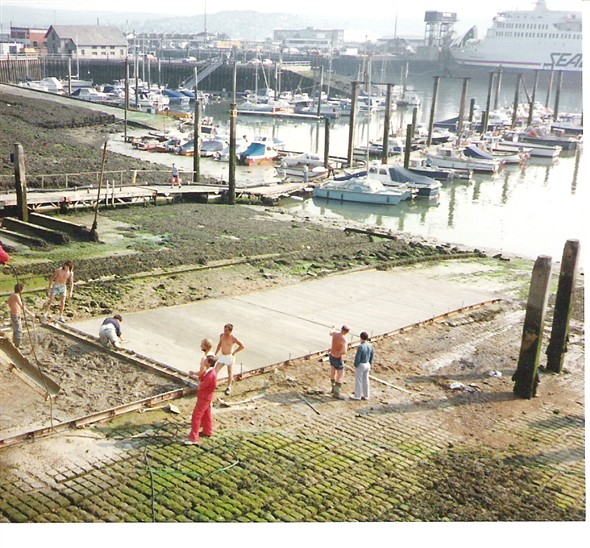 Photo: Illustrative image for the 'NEW SLIPWAY NEWHAVEN MARINA' page