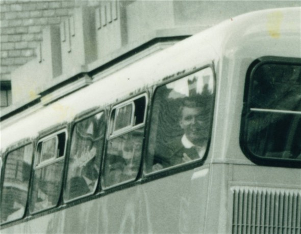 Photo:Passenger on the bus - C1960