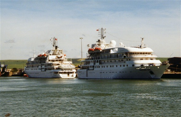 Photo:Twin Renaissance cruise ships - May 2001