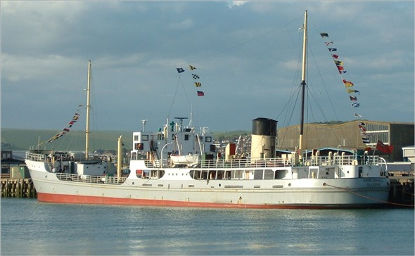 Photo:Shieldhall at the East Quay