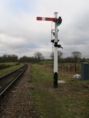 Photo:The signal in use on the Bluebell Railway (see comment below)