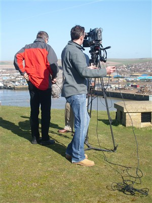 Photo: Illustrative image for the 'FILMING AT NEWHAVEN FORT' page