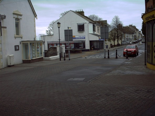 Photo:MEECHING ROAD FROM HIGH STREET - 2004