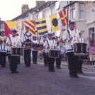 Photo:Newhaven Youth Marching Band starts the party off