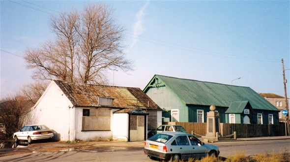 Photo:Old Cafe - Old Seamans Mission Hut - Transport / Maritime Memorial - 1989